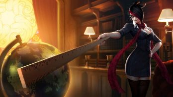 Headmistress Fiora Wallpaper LOL