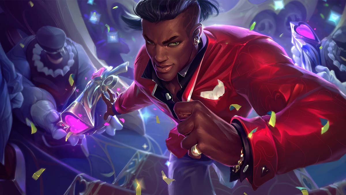 Heartseeker Lucian Wallpaper LOL