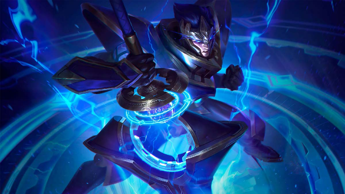 Hextech Jarvan IV Wallpaper LOL