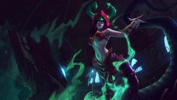 Jade Fang Cassiopeia Wallpaper LOL