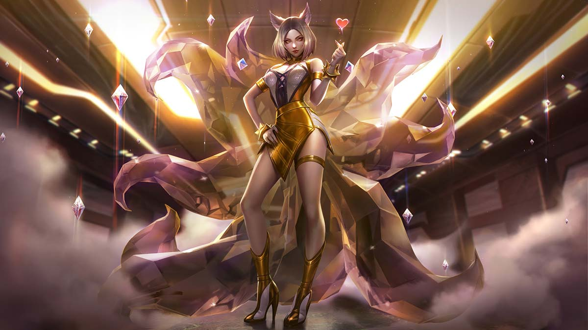 K/DA Ahri Prestige Wallpaper LOL