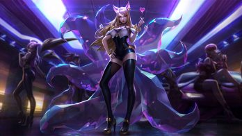 K/DA Ahri Wallpaper LOL