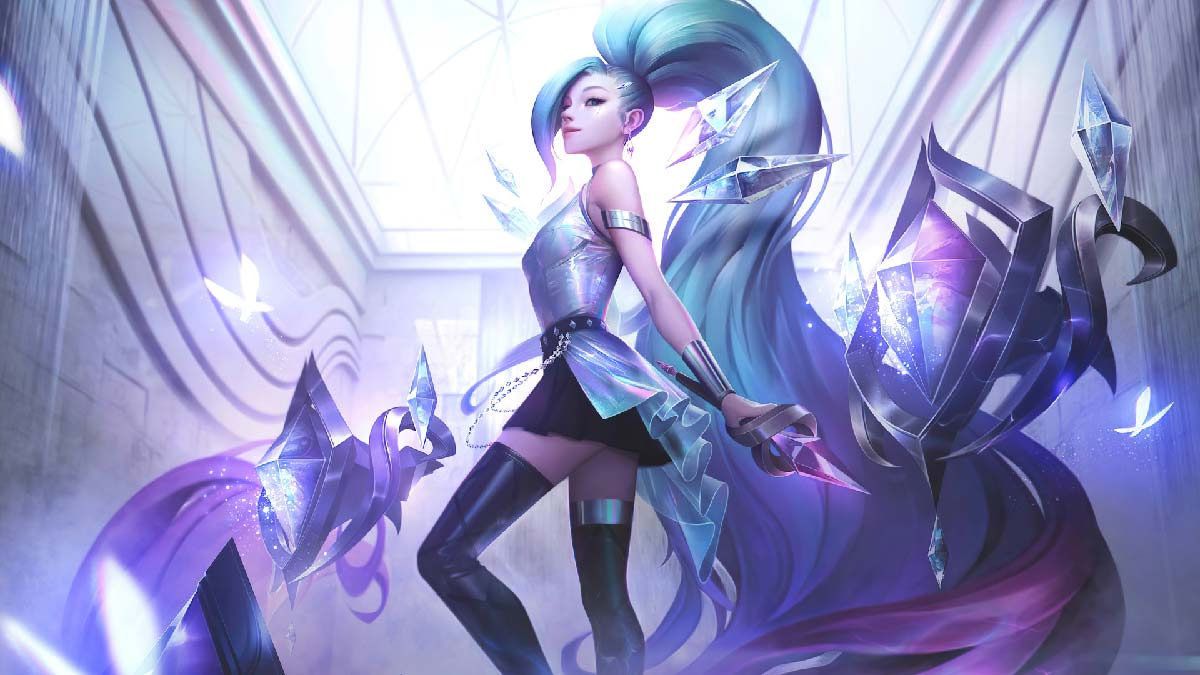 KDA All Out Seraphine Superstar Wallpaper LOL