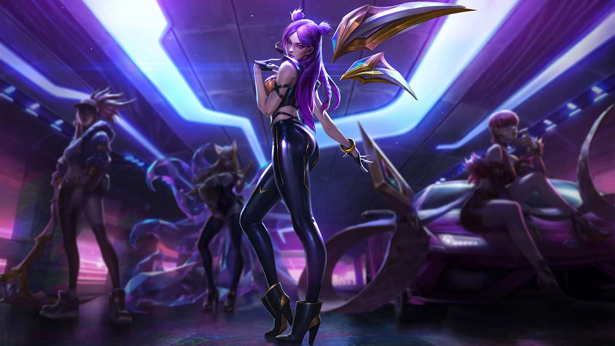 K/DA Kai'Sa Wallpaper LOL