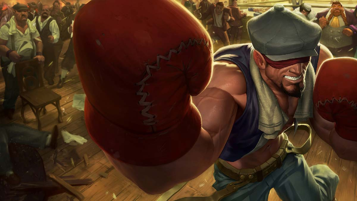 Knockout Lee Sin Wallpaper LOL