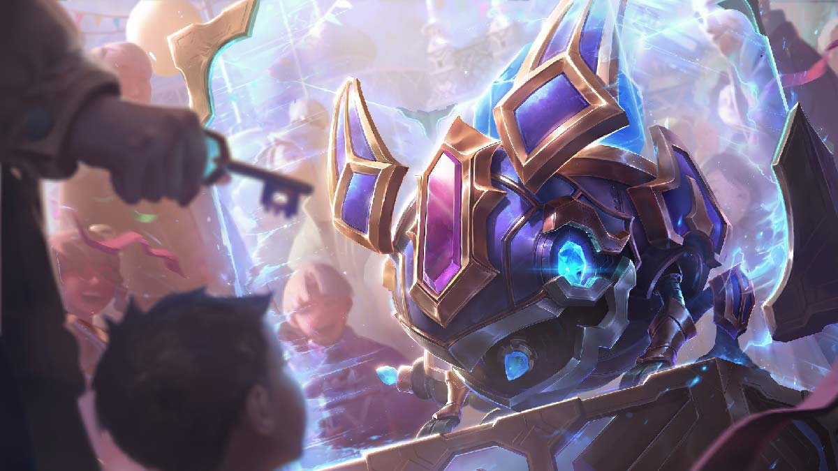 Hextech Kog'Maw Wallpaper LOL