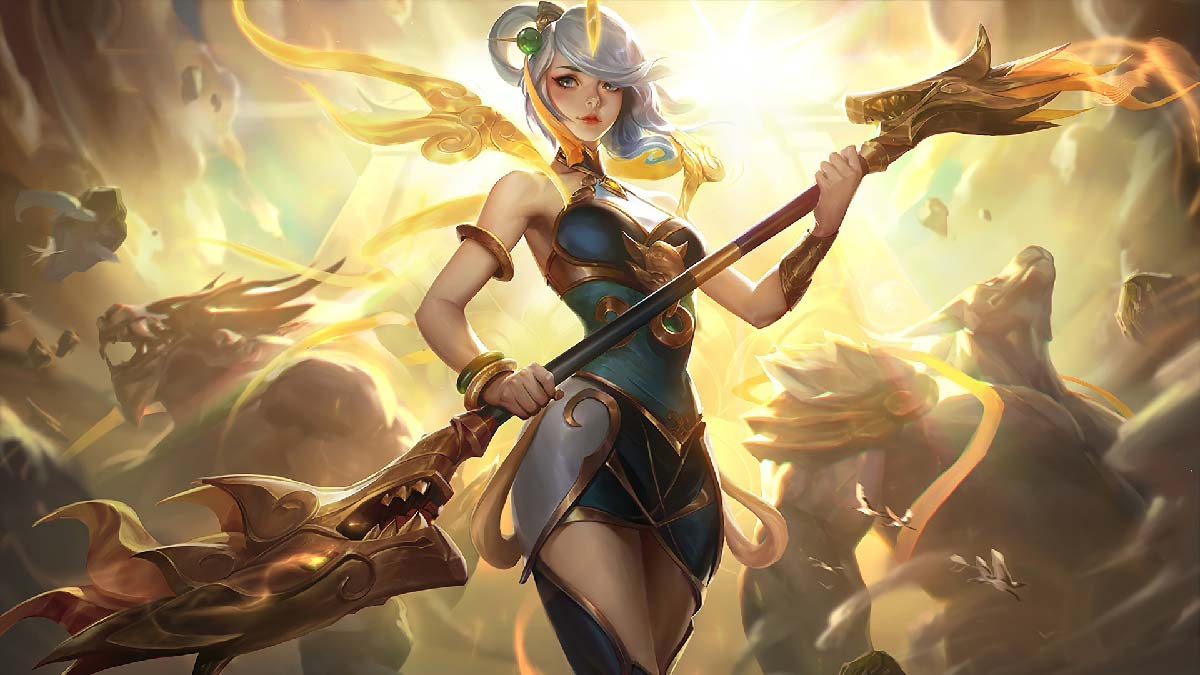 Lunar Empress Lux Wallpaper LOL