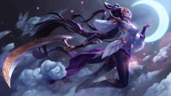 Lunar Goddess Diana Wallpaper LOL