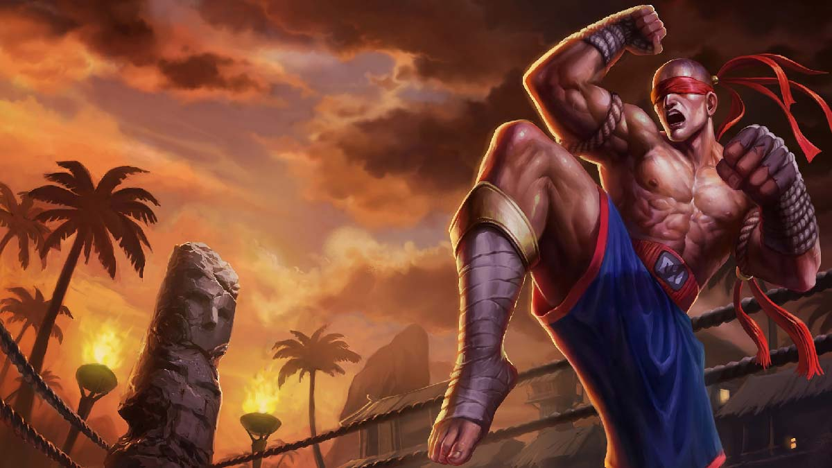 Muay Thai Lee Sin Wallpaper LOL