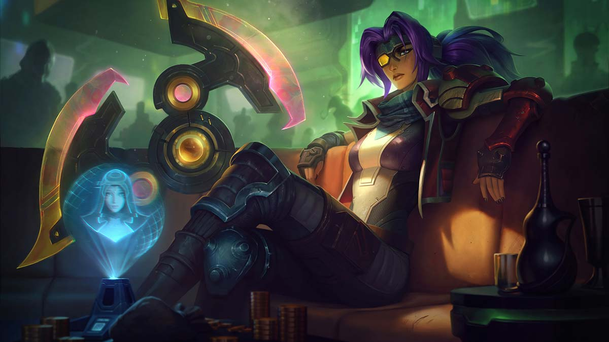 Odyssey Sivir Wallpaper LOL