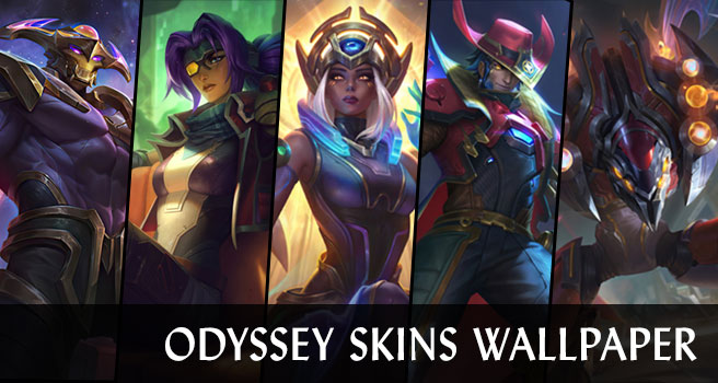 Odyssey Skins Wallpaper LOL