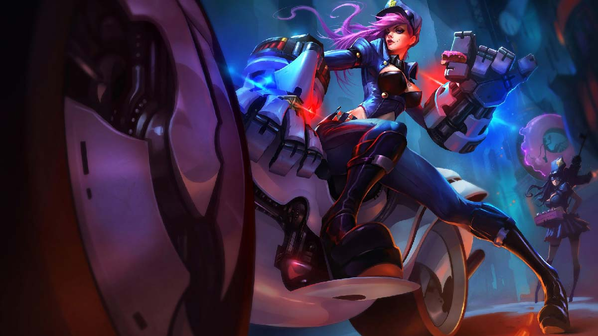 Officer Vi Wallpaper LOL