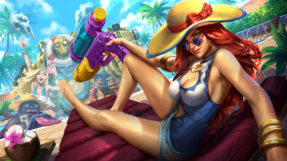 Pool Party Miss Fortune Wallpaper LOL