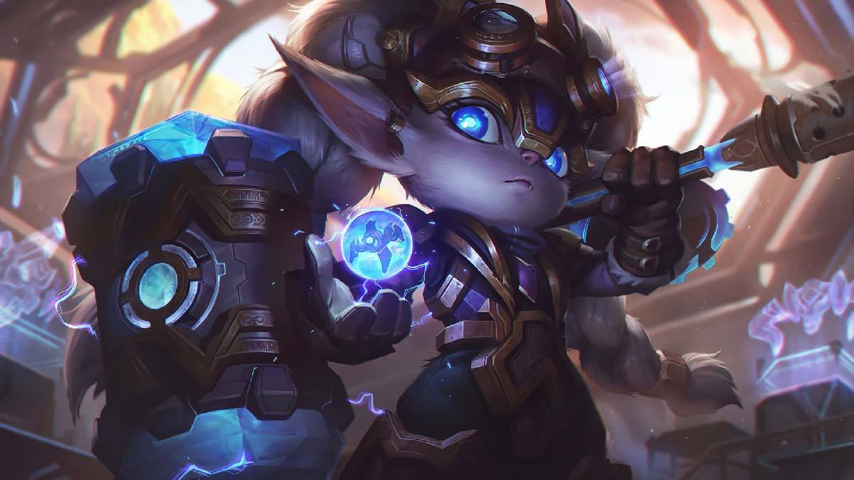 Hextech Poppy Wallpaper LOL