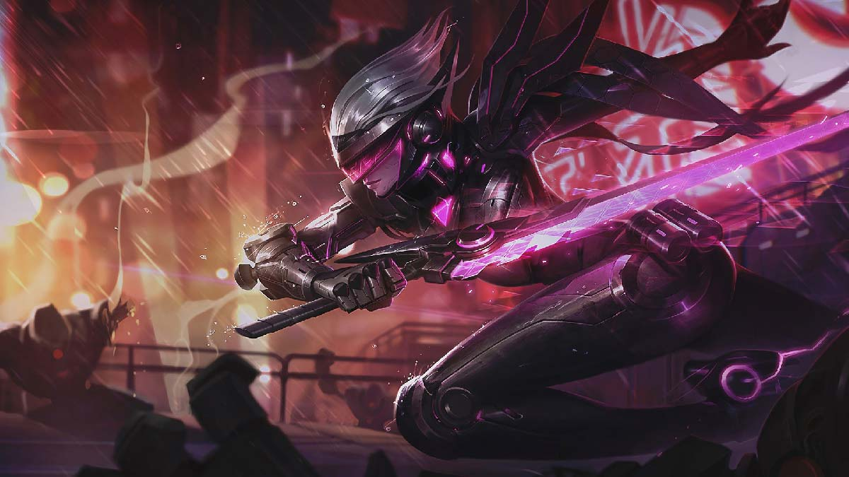 Project Fiora Wallpaper LOL