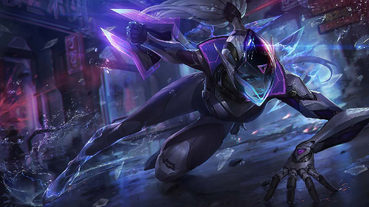 PROJECT: Vayne Wallpaper LOL