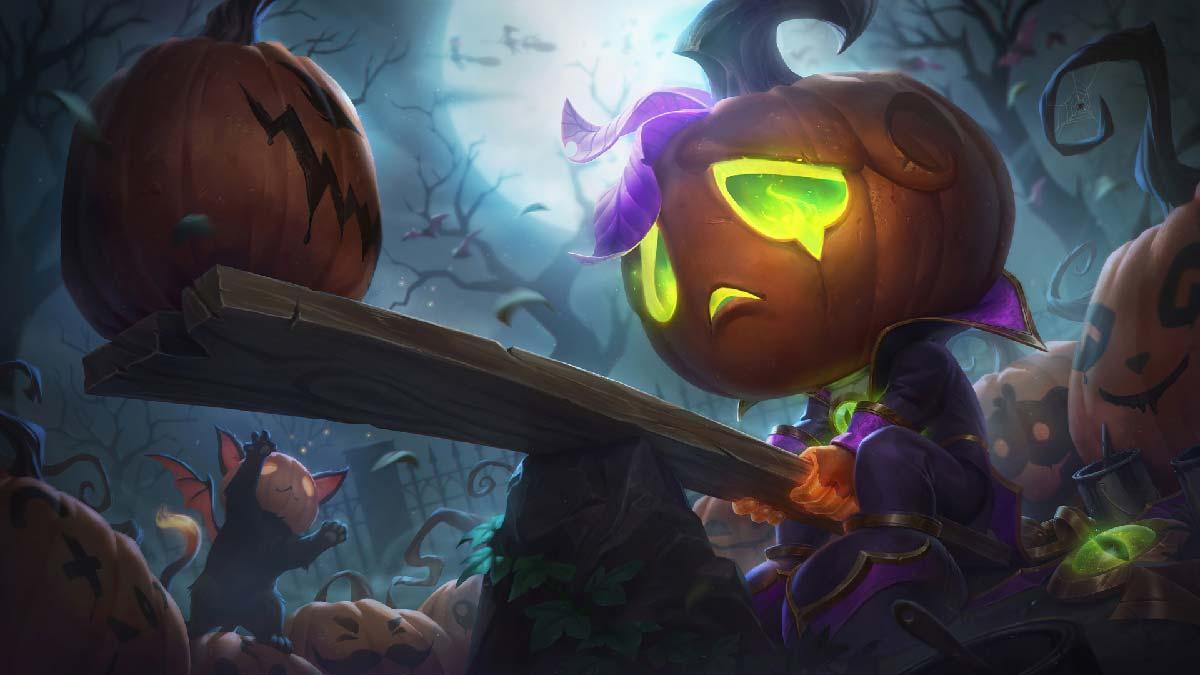Pumpkin Prince Amumu Wallpaper LOL