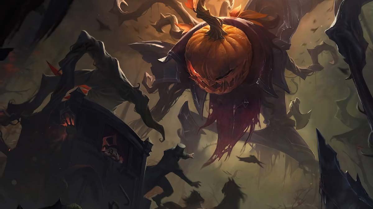 Pumpkinhead Fiddlesticks Wallpaper LOL