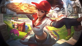 Pizza Delivery Sivir Wallpaper LOL