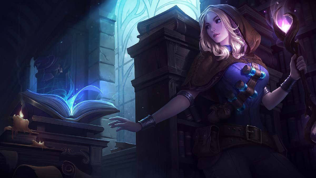 Spellthief Lux Wallpaper LOL