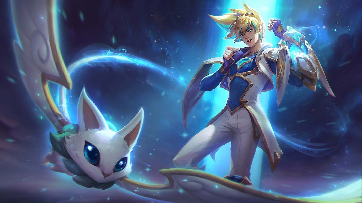 Star Guardian Ezreal Wallpaper LOL