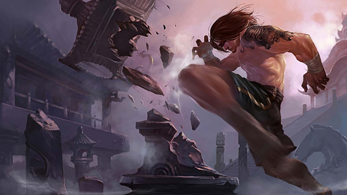 Traditional Lee Sin Wallpaper LOL