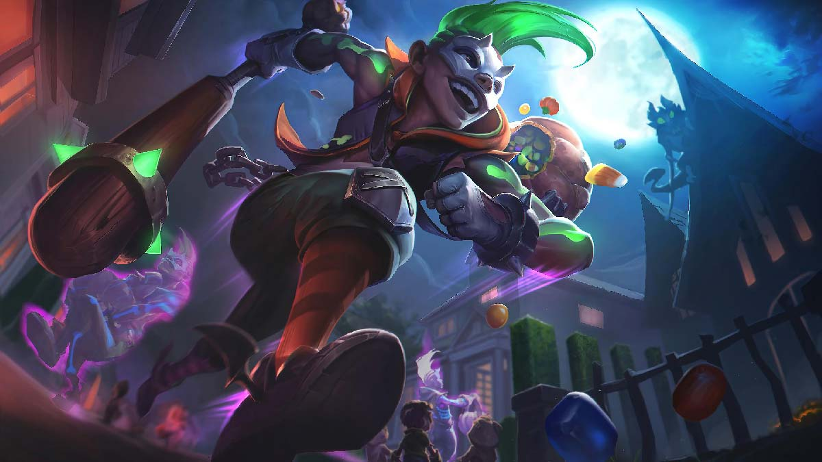 Trick or Treat Ekko Wallpaper LOL