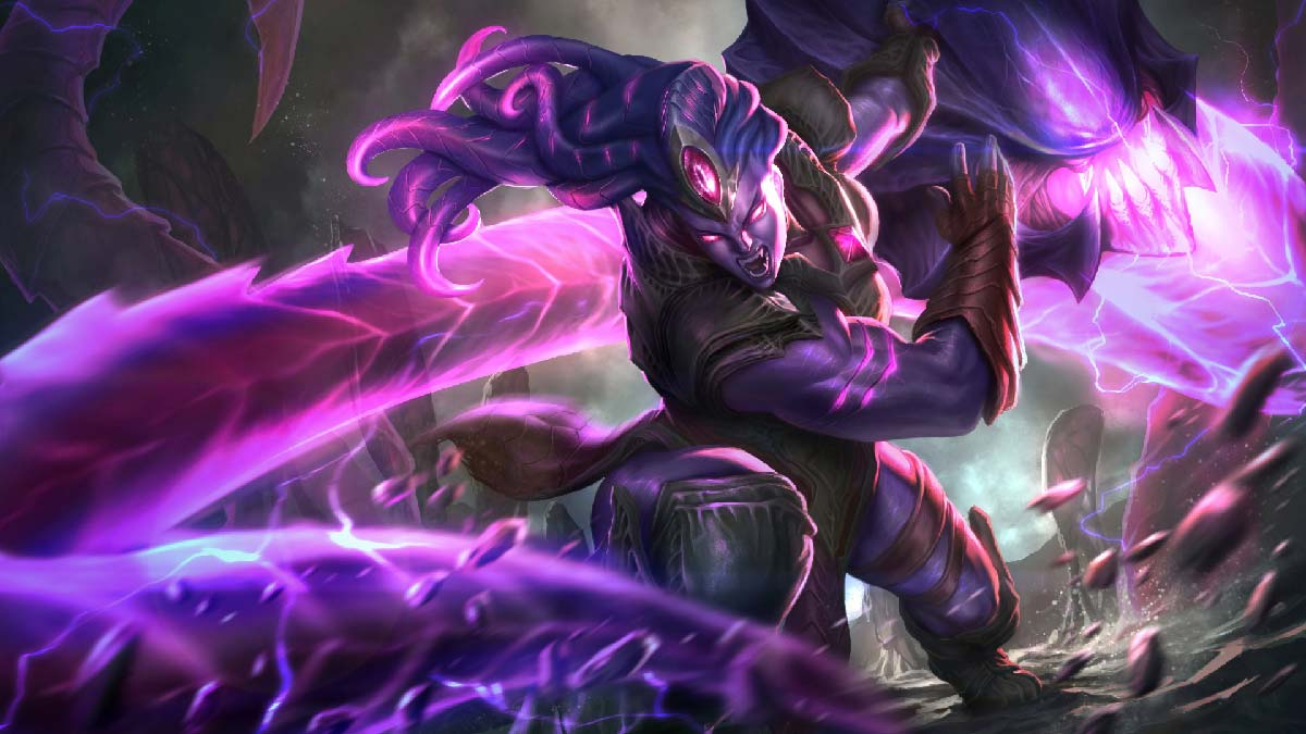 Void Bringer Illaoi Wallpaper LOL