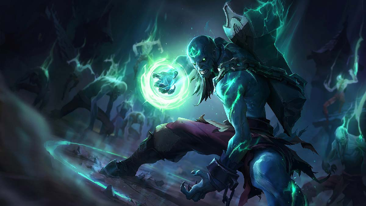 Zombie Ryze Wallpaper LOL