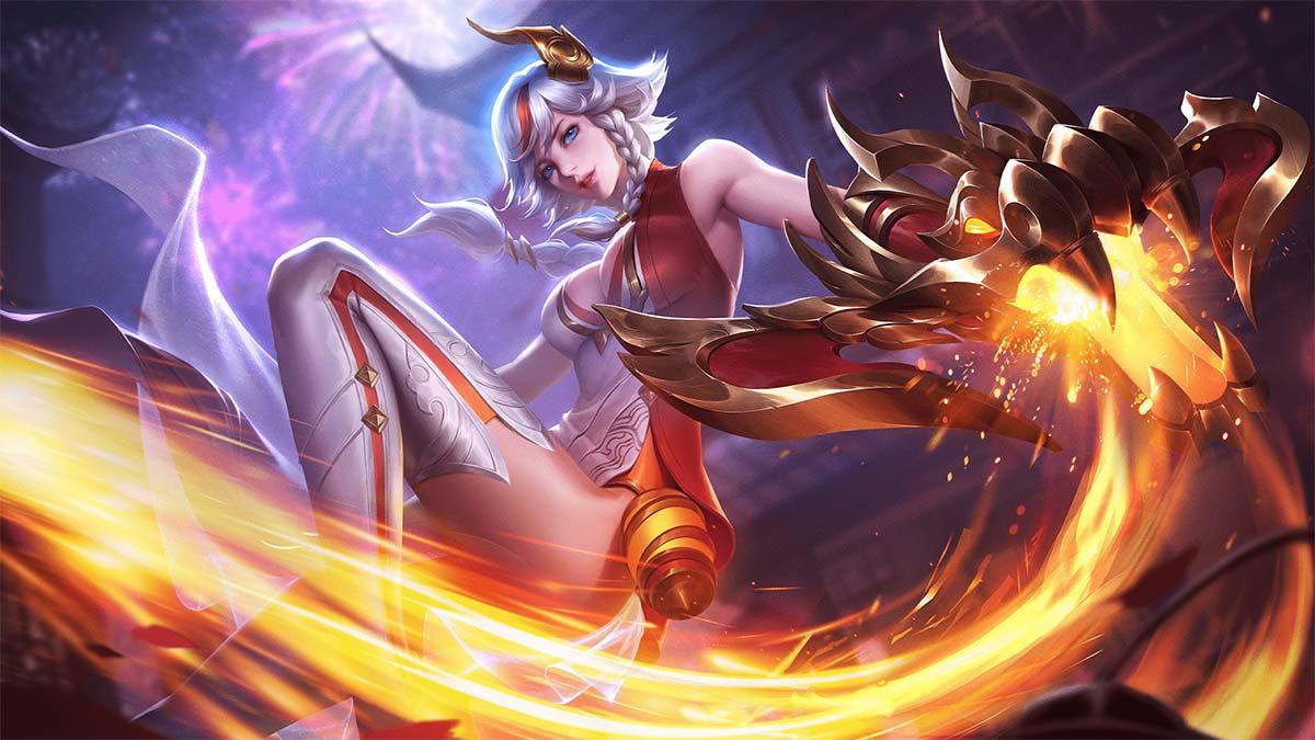 Hình nền Lindis Nữ Vương Pháo Hoa