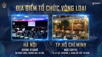 Lịch trình Vòng Loại ĐTDV Series B Mùa Đông 2020