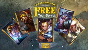 Sự kiện Xua Tan Bóng Đêm cơ hội nhận trang phục miễn phí