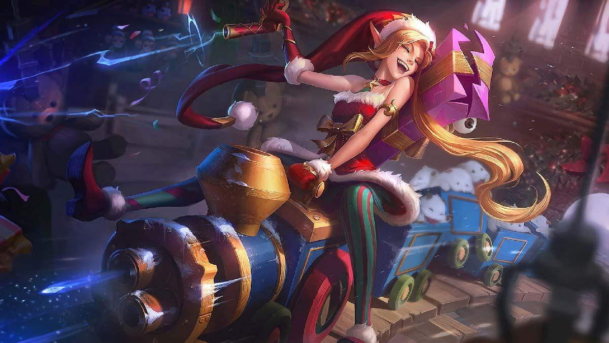 Ambitious Elf Jinx Wallpaper LOL