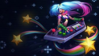 Arcade Sona Wallpaper LOL