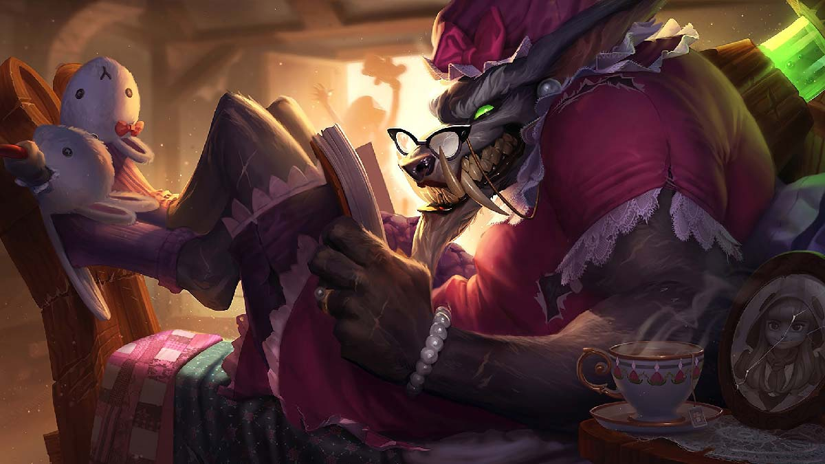 Big Bad Warwick Wallpaper LOL