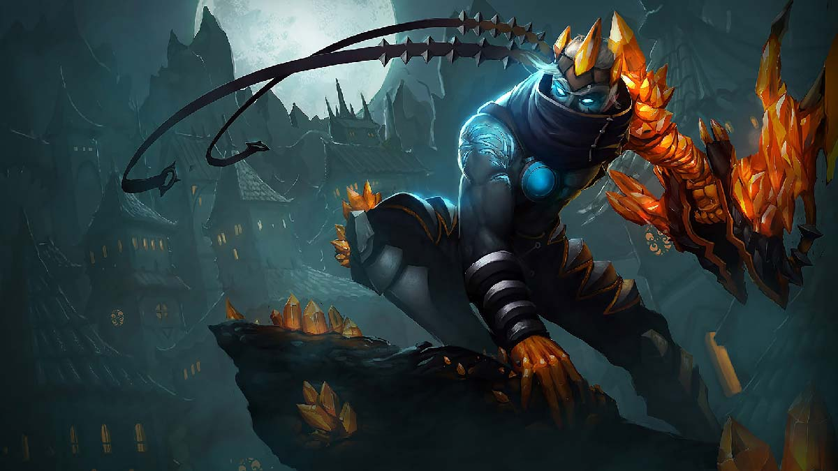 Blight Crystal Varus Wallpaper LOL