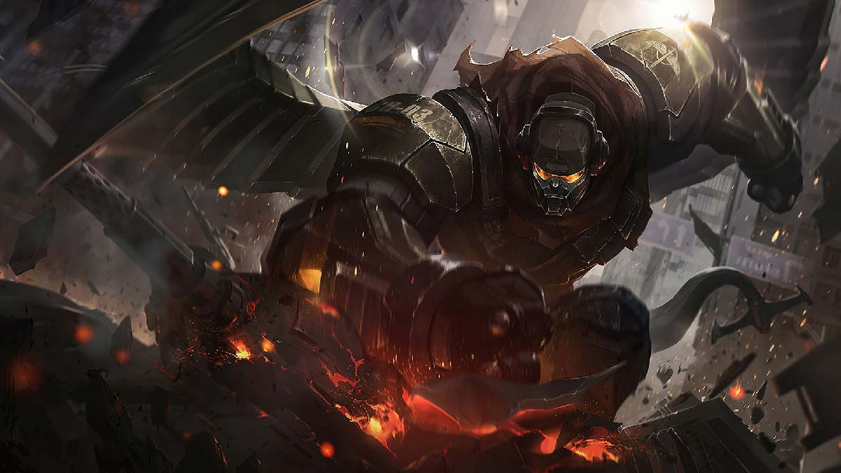 Commando Galio Wallpaper LOL