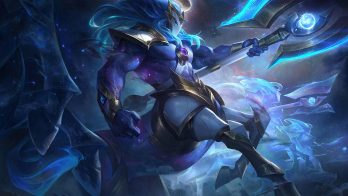 Cosmic Charger Hecarim Wallpaper LOL