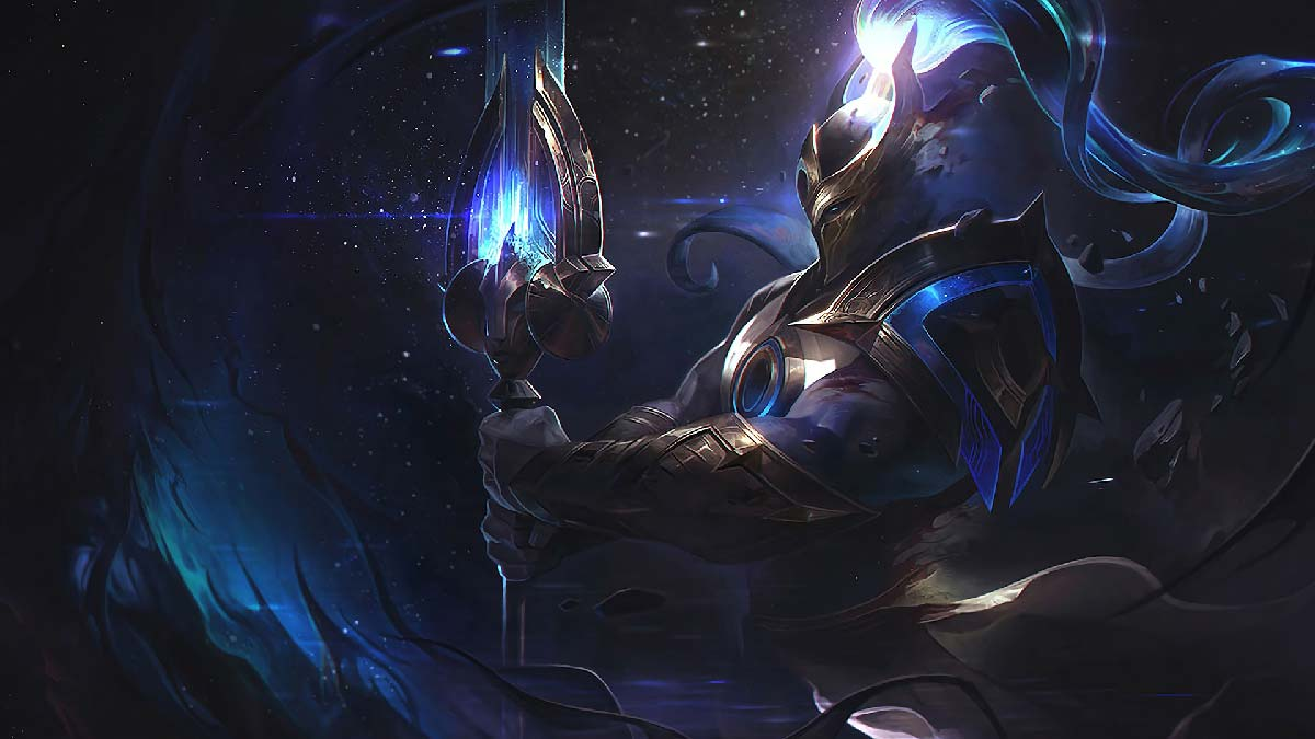 Cosmic Defender Xin Zhao Wallpaper LOL