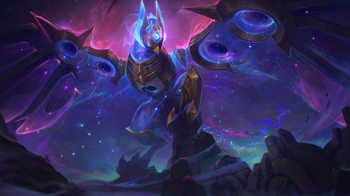 Cosmic Flight Anivia Wallpaper LOL
