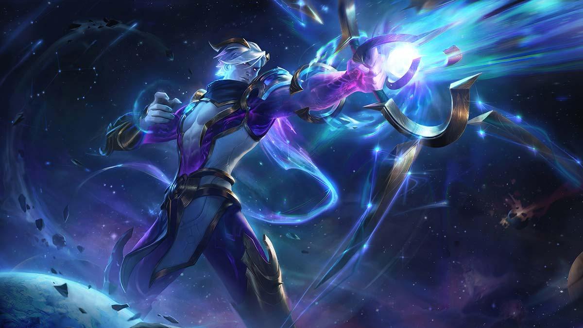 Cosmic Hunter Varus Wallpaper LOL