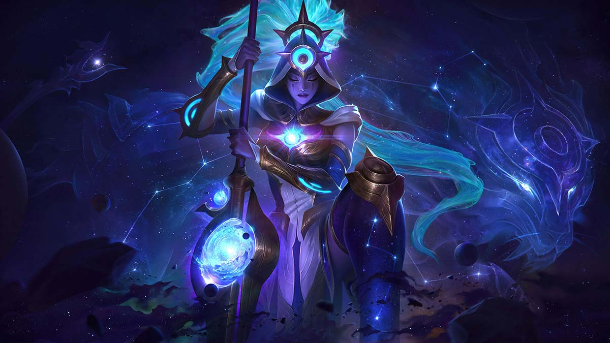 Cosmic Huntress Nidalee Wallpaper LOL