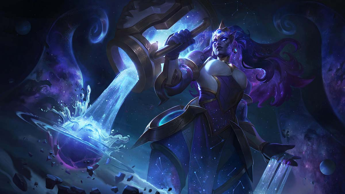 Cosmic Invoker Illaoi Wallpaper LOL