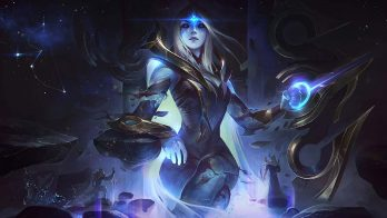 Cosmic Queen Ashe Wallpaper LOL