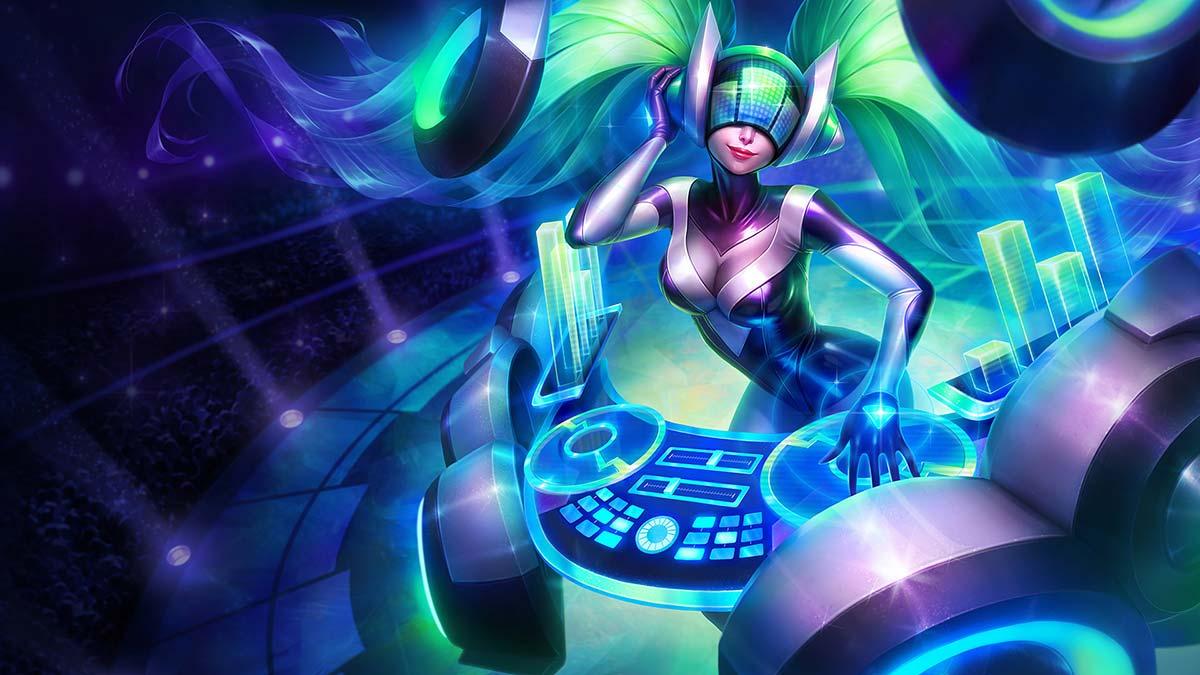 DJ Sona Wallpaper LOL