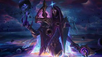 Dark Cosmic Jhin Wallpaper LOL
