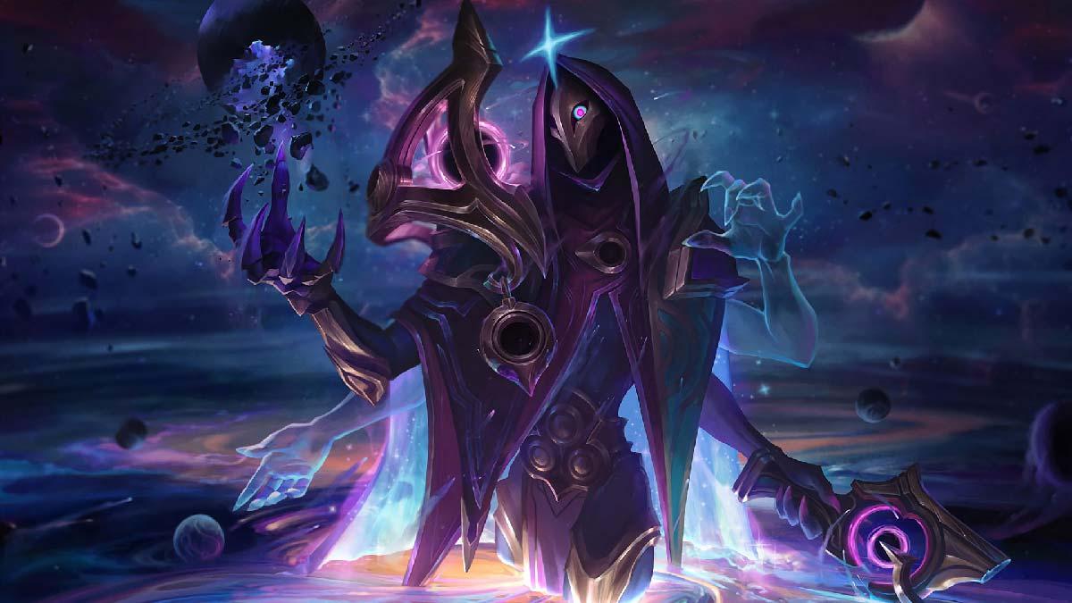 Dark Cosmic Jhin Wallpaper LOL