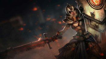 Defender Leona Wallpaper LOL