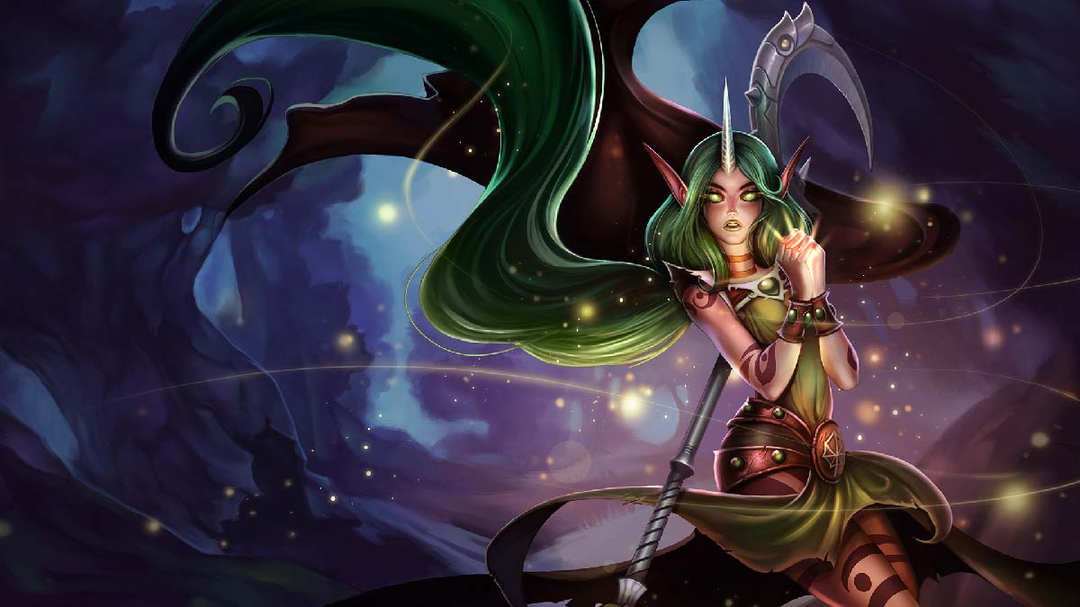 Dryad Soraka Wallpaper LOL