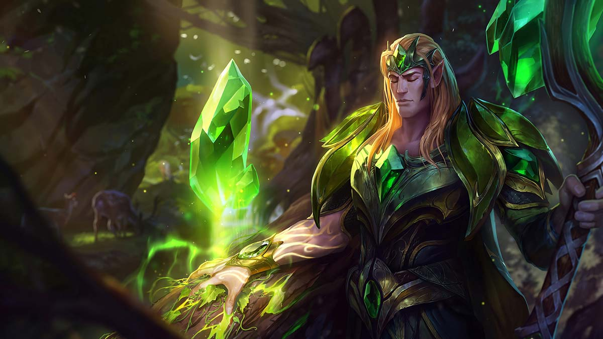 Emerald Taric Wallpaper LOL